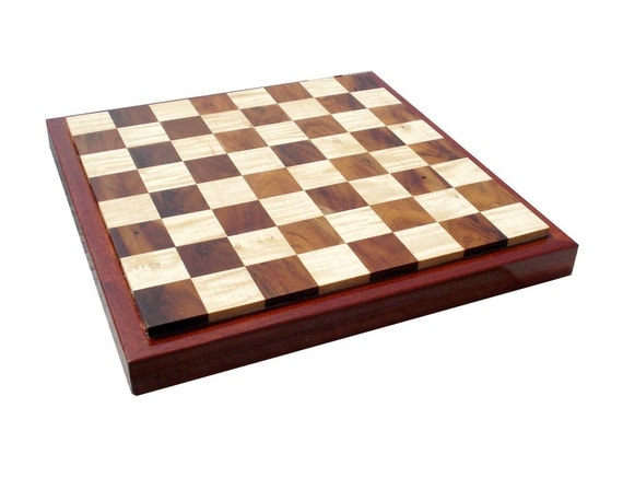 Chessboard in Exotic Hardwood