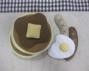Felt breakfast pancake