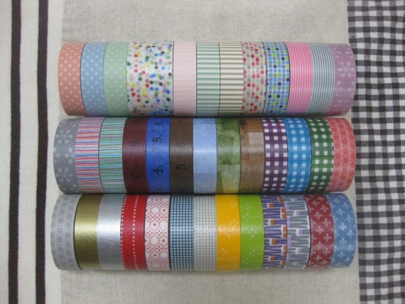 5 masking tapes your choice