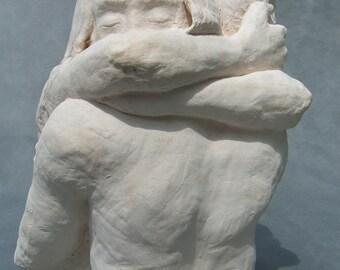Embrace Large Figure Sculpture