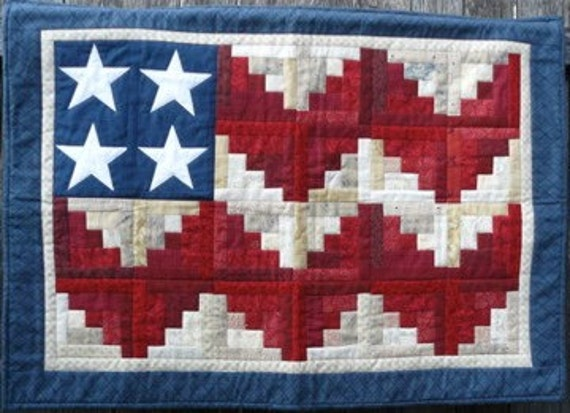 quilted flag wall hanging. Black Bedroom Furniture Sets. Home Design Ideas