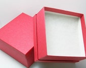 Reserved 73 Large Red Kraft Gift Boxes