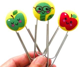 Handy Dandy Button Bookmarks, Back to School, School Supply, Teacher Gift, Bookmark