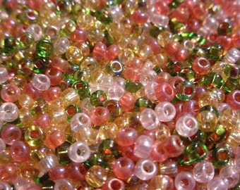 Tapestry 8/0 Loose Seed Bead Combo Mix 1 Ounce