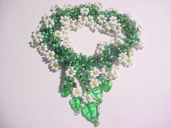 Daisy Spiral Rope 8 0 Seed Bead Bracelet Pdf By