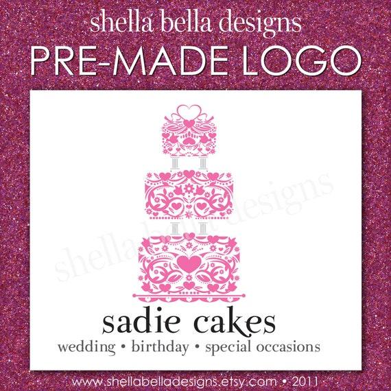 ... logo business logo photography logo wedding cake logo design trendy