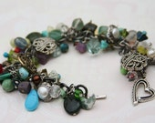 Christmas Sale Sale- This and That Handmade Charm Bracelet