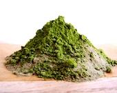 Green Clay Seaweed + Matcha Mask . natural skin care