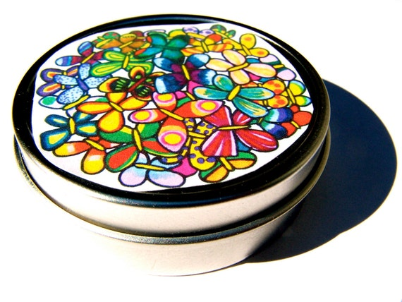 butterfly salve . for the great outdoors . locally gathered plantain leaf