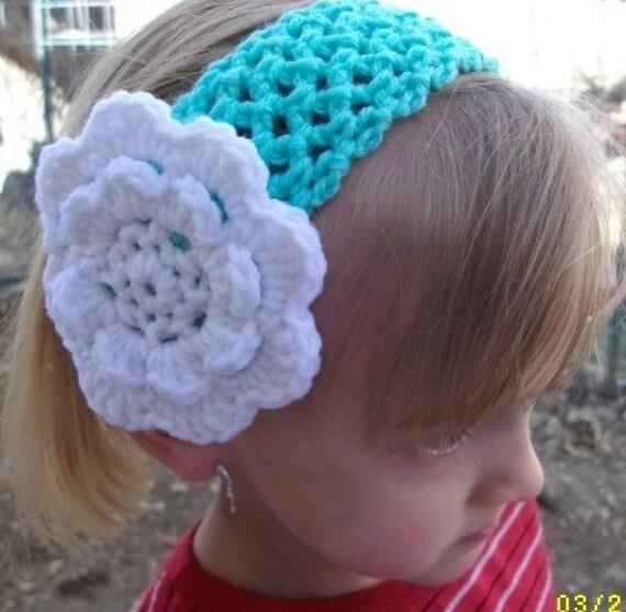 Crochet Headband Fish Net Headband PDF Pattern Crochet Hairband