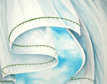 Breeze I an original watercolor painting