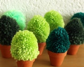 We Want A Shrubbery Pom Pom Plush Plant