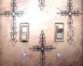 Beautfully Chic Crosses Switch Plate-2 Prong