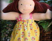 Country French Sundress Set  15 in. Waldorf Doll Clothes