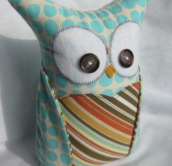 Milton the Owl..Amy Butler fabric
