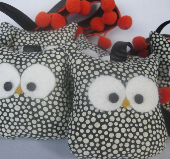 Halloween Owl Garland
