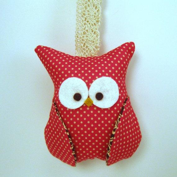 Owl Ornament -Party Favor - No.36