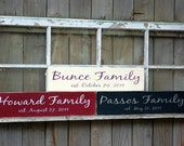 Custom Family Name Sign (style 4)