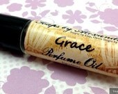 GRACE - Perfume Oil, Handmade Roll On Perfume - Mother's Day Gift