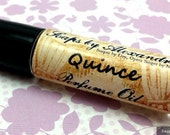 QUINCE - Perfume Oil, Handmade Roll On Perfume - Mother's Day Gift