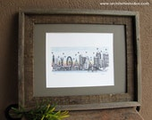 Skyline Series - Color Art Print (8 x 10)