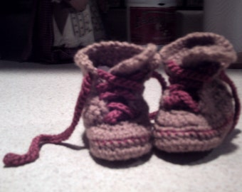 Workboot Baby  Boy Infant Newborn Booties