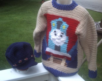 on SALE this week only Thomas Engine Train Jumper Sweater  Toddler sizes