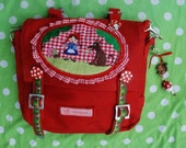 Kindergartenbag - Little Red Ridinghood, Reserved for Kirstin Hoiland