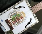 Cigar Box Guitar No. 3 - Acoustic & Electric - RESERVED for karennylr