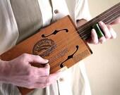 Padron 3000 Cigar Box Guitar No. 25 - Acoustic & Electric