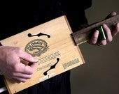 Cigar Box Guitar No. 34 Padron 4000 Acoustic & Electric