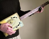 Custom Cigar Box Guitar - Acoustic & Electric - Custom Made for You by Country Boy Guitars - Your Choice of Box
