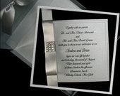 Wedding invitations,Silver and Black Boxed Couture Set of 100
