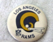 Vintage LA Rams Button pin