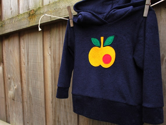 An apple a day hoodie