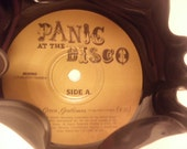 Recycled Vinyl Bowl - Panic at the Disco