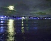 16x20 Photography Print. City by Night, Oceanside California.
