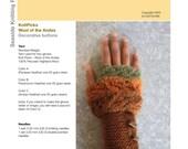 Enchanted Forest Fingerless Gloves - PDF Knitting Pattern