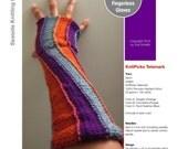 Carousel Gauntlets - PDF Knitting Pattern