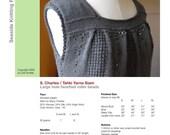 Box-Pleat Top - PDF Knitting Pattern