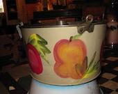 Painted Angel Food Cake Pan