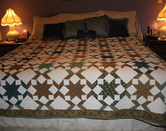 King Star Quilt
