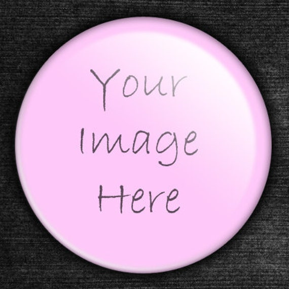50 Custom Pocket Mirrors and Organza Gift Bags 2.25 inch Round Glass Personalized Pocket Mirror