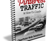 Pinterest for Business How To Guide - Increase Traffic to your Website - ebook, PDF