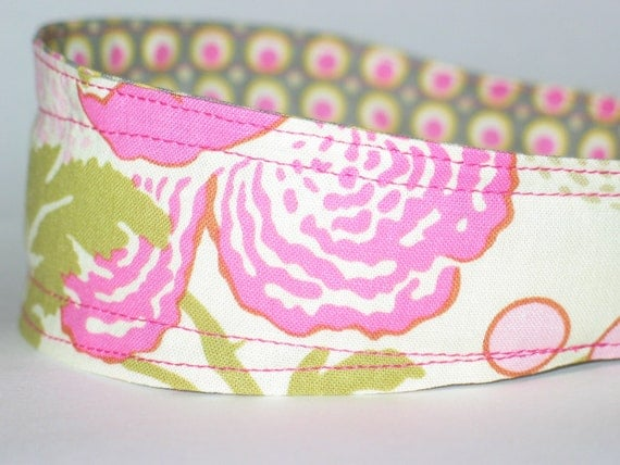 Reversible Fabric Headband - Amy Butler Midwest Modern, Wide Headband for Women or Girls