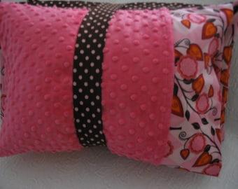 Pink Flora Kinder Nap Mat