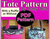 Scripture Tote Pattern/ Tutorial