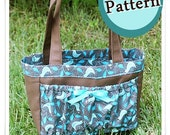 Pocket Tote PATTERN/ Tutorial