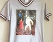 Vintage 70's Saturday Night Fever Top John Travolta L