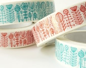 bloomsbury decorative sticky tape in turquoise - SECONDS